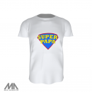 Men`s Active T-Shirt, Süper PAPA
